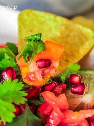 Salsa ze świeżych pomidorów - pico de gallo
