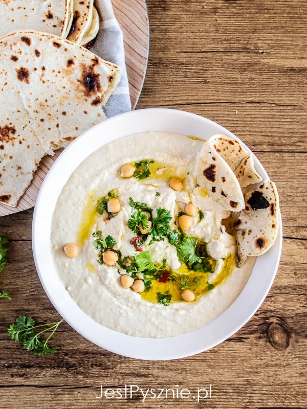 Hummus z kminem rzymskim