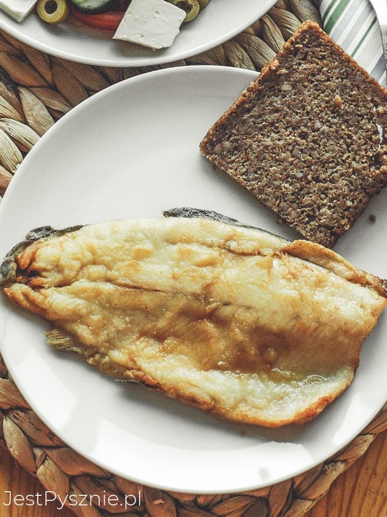 Smażony filet z pstrąga