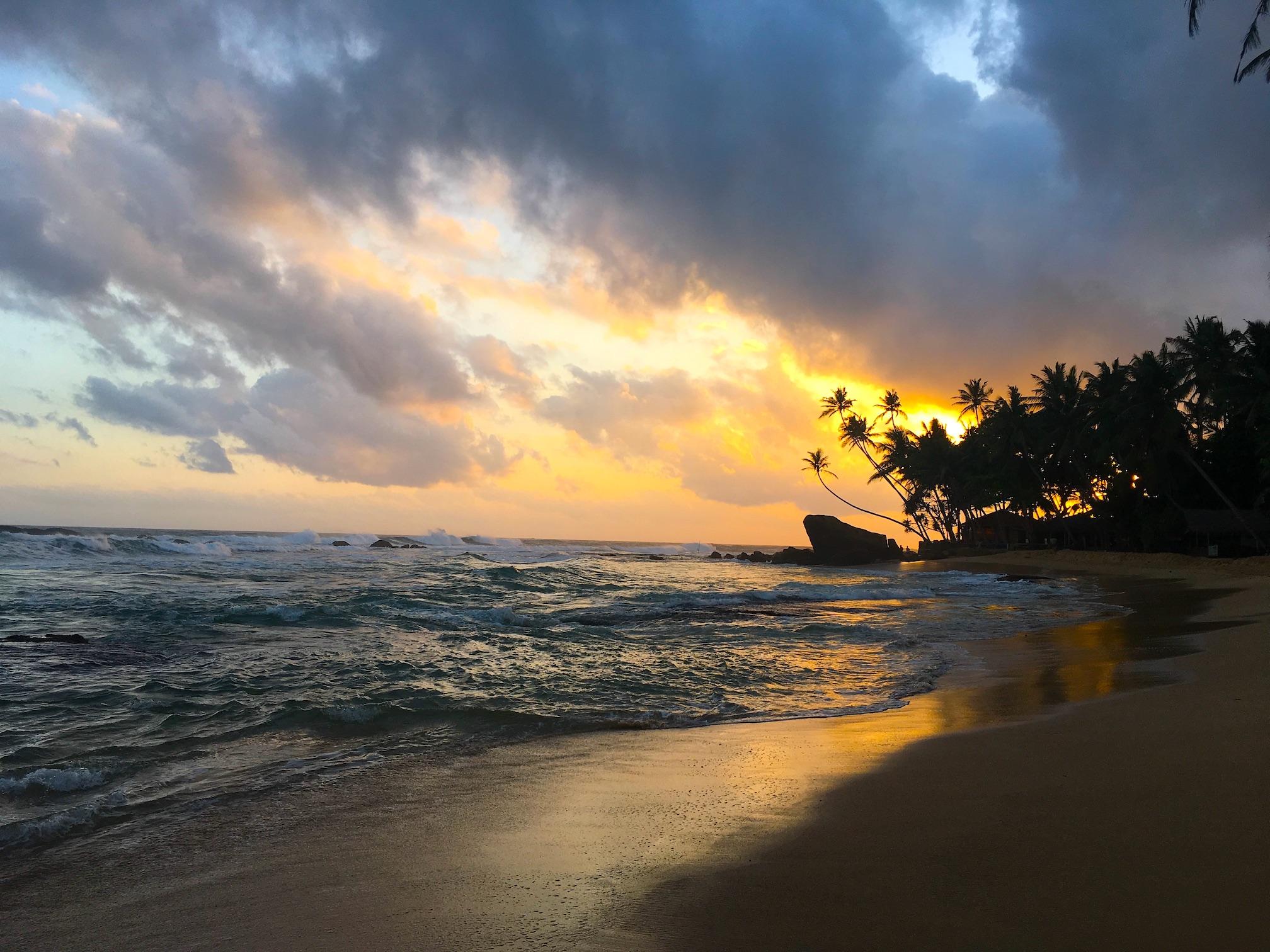 Southern Sri Lanka Delawella beach 1