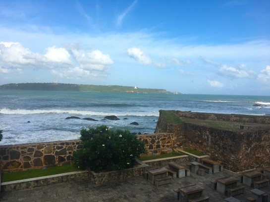 Sri Lanka: the view from the Old Dutch Hospital