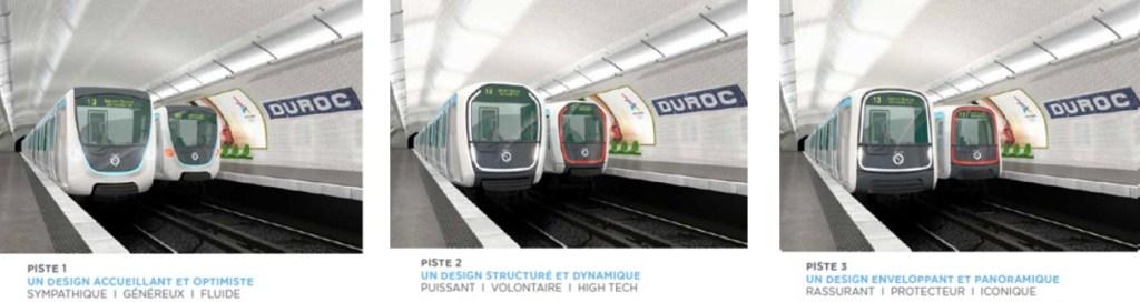 Metro for Paris