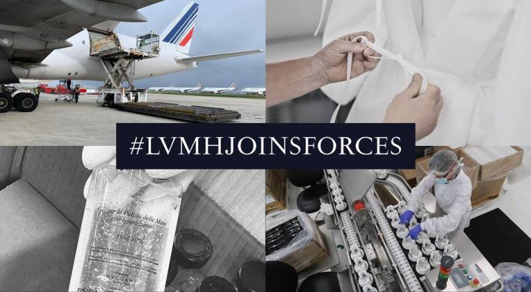 Coronavirus: LVMH joins forces against pandemic