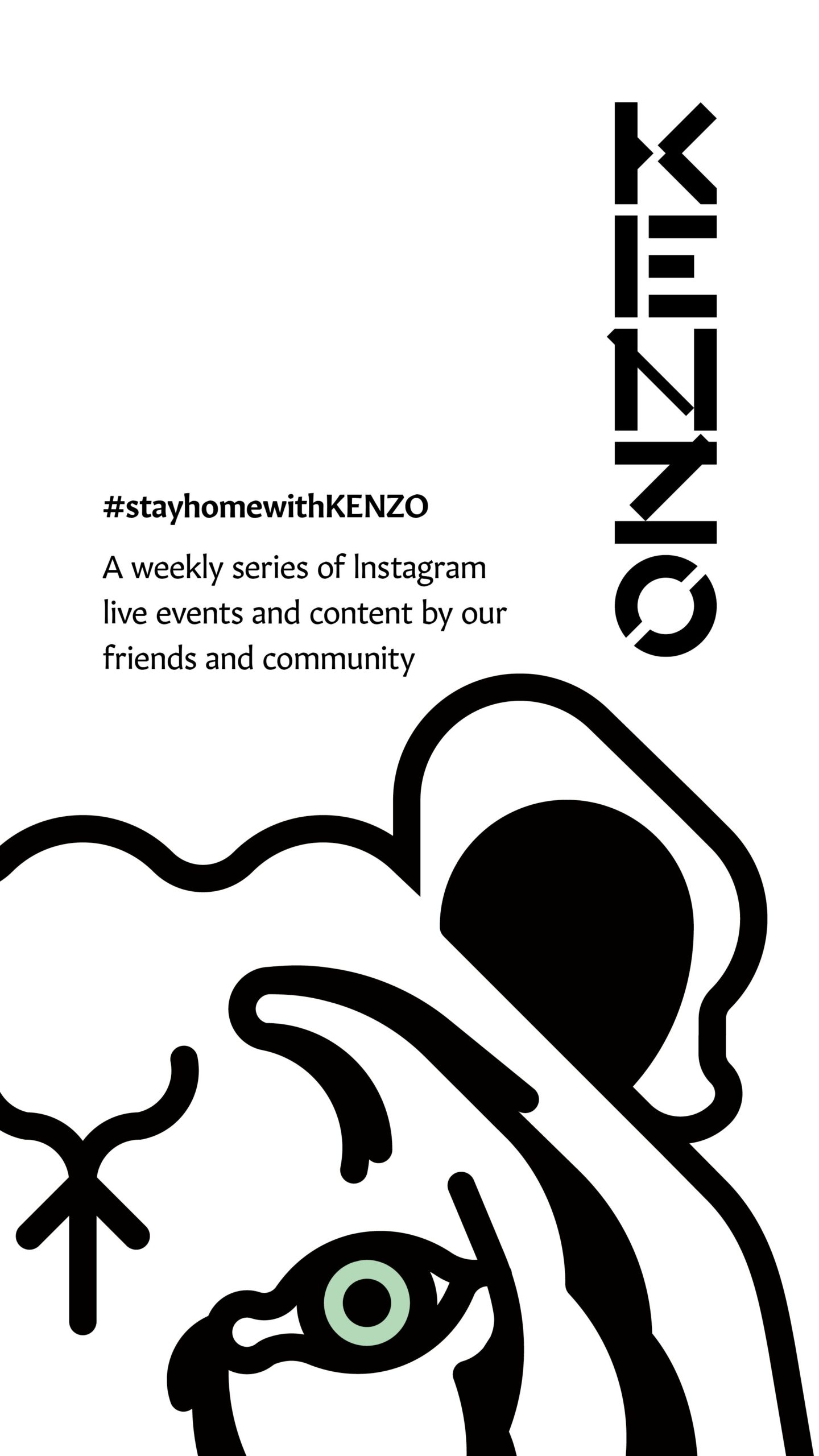 Stay Home with KENZO