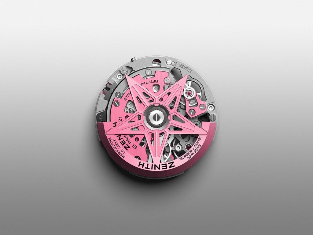 Defy 21 Pink Edition | © Zenith