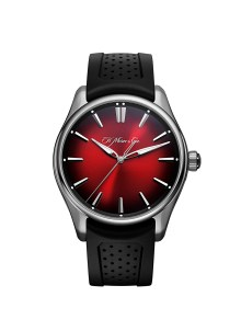 Pioneer Centre Seconds Swiss Mad Red | H. Moser & Cie