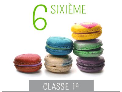 classe prima media - sixième