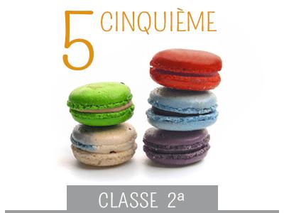 classe seconda media - cinquieme