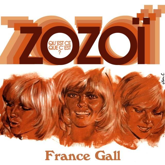 FRANCE GALL ZOZOI titres