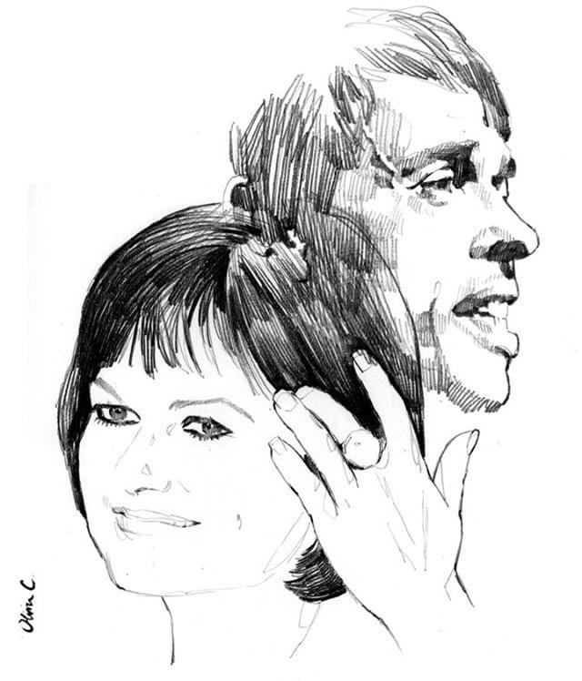 MAURANE et Jacques Brel par Olivier Coulon (3)