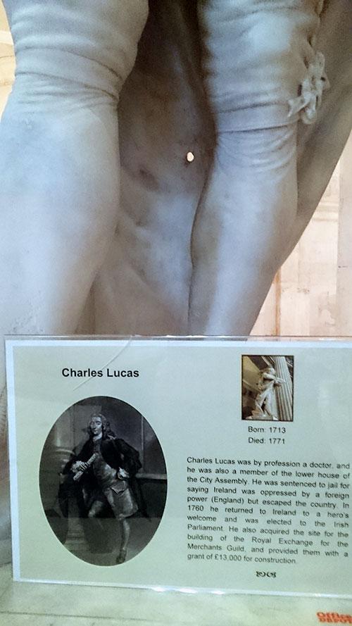 Charles Lucas - Dublin City Hall - Dublin Horrid History