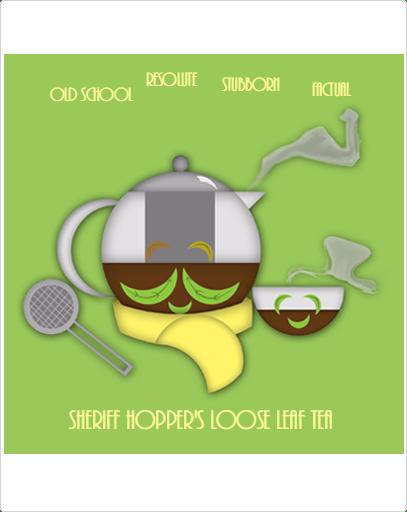 Sheriff Hopper's Loose Leaf Tea