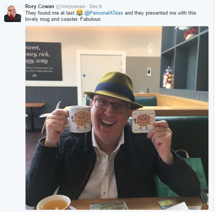 The Personal-a-Teas Magic | Rory Cowan