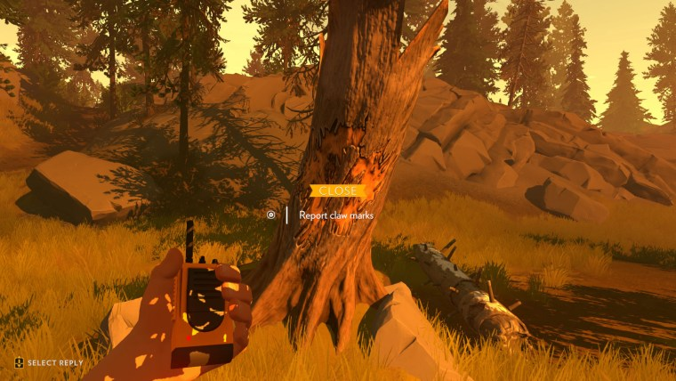 Screenshot Firewatch PS4