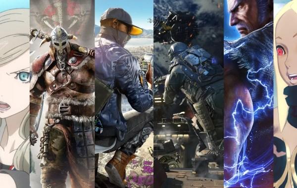 TOP 10 des jeux de l'E3 2016