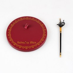 Vue d'ensemble des accessoires de la figurine Vertex de Selvaria Bles
