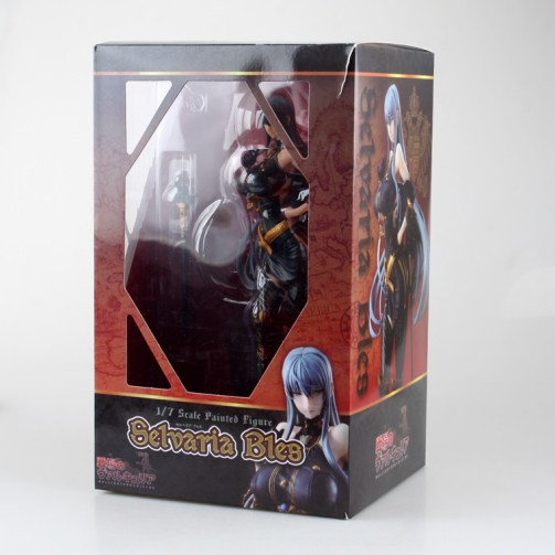 Vue d'ensemble de la boîte de la figurine Vertex de Selvaria Bles