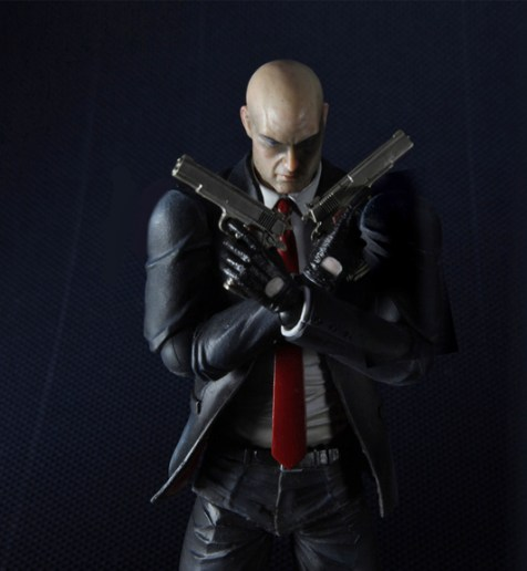 Unboxing de la figurine Play Arts Kai d'Hitman Absolution
