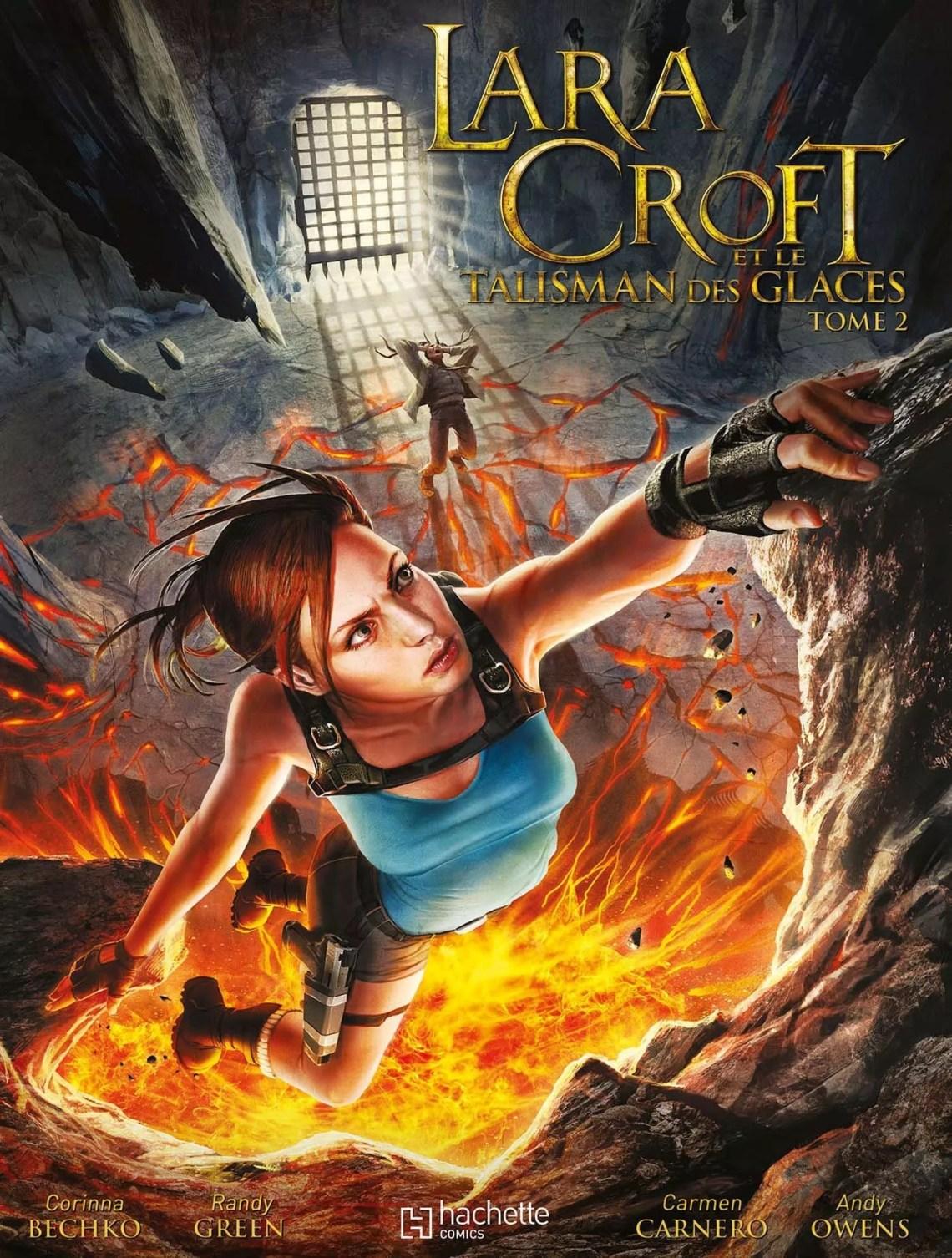 Notre avis sur la BD Lara Croft et le Talisman des Glaces