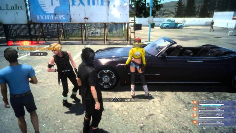 Test de Final Fantasy XV sur Xbox One