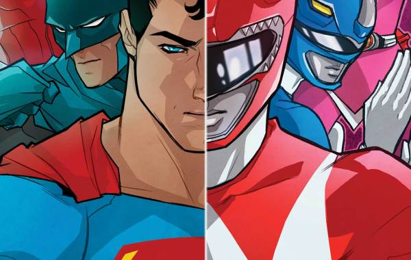 Critique du comic Power Rangers vs. Justice League