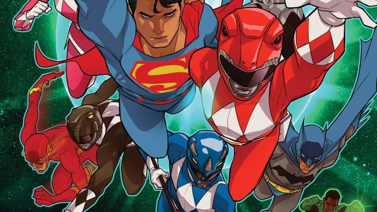 Critique du comic Power Rangers vs. Justice League
