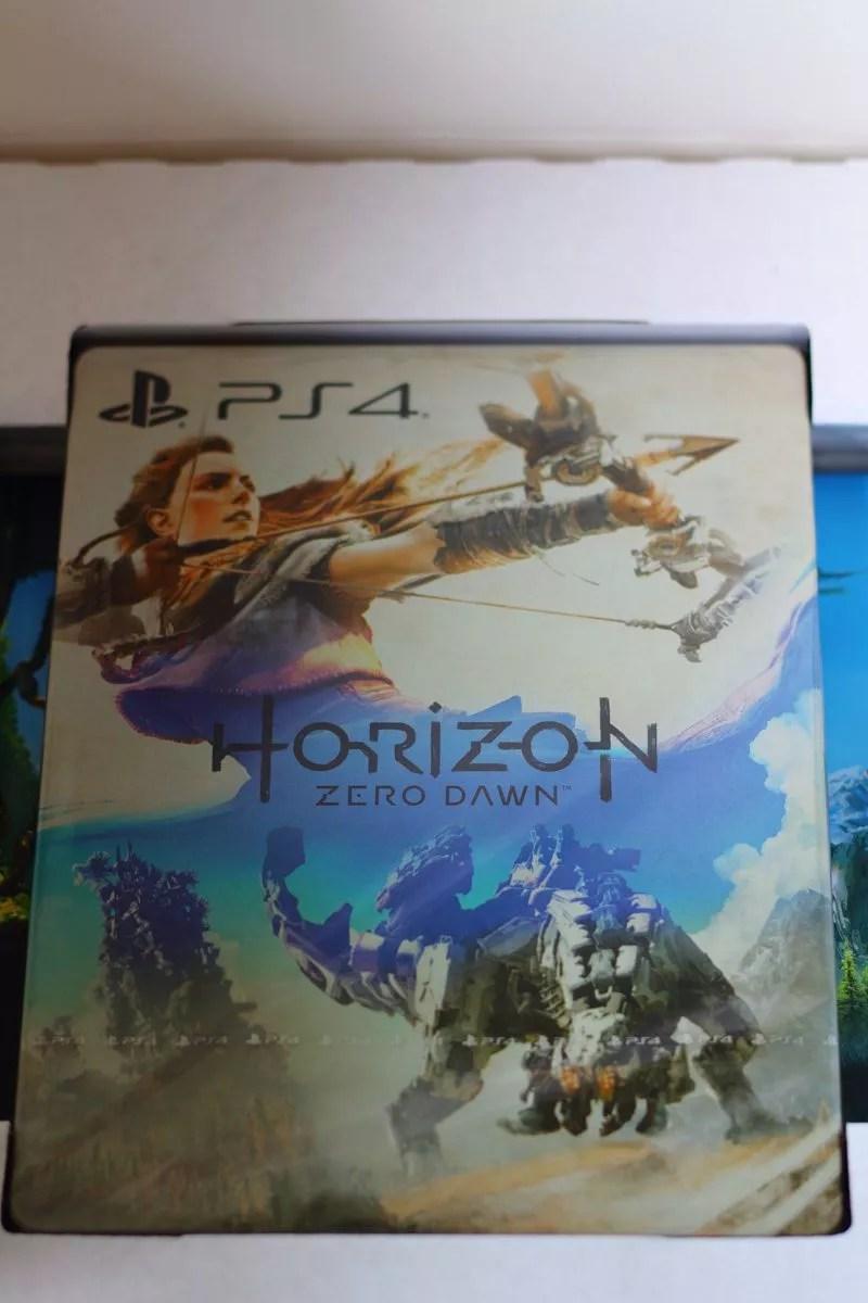 Unboxing de l'Édition Collector de Horizon Zero Dawn (PS4)