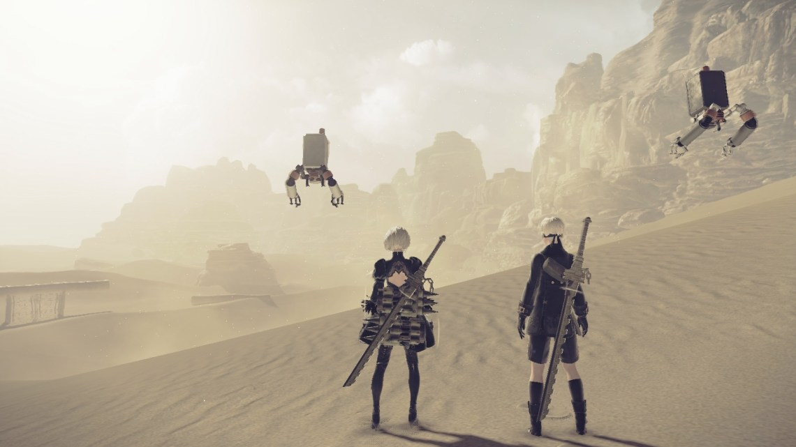 Test de NieR: Automata sur PS4
