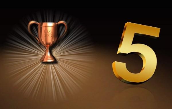 TOP 5 des trophées les plus difficiles sur consoles PlayStation