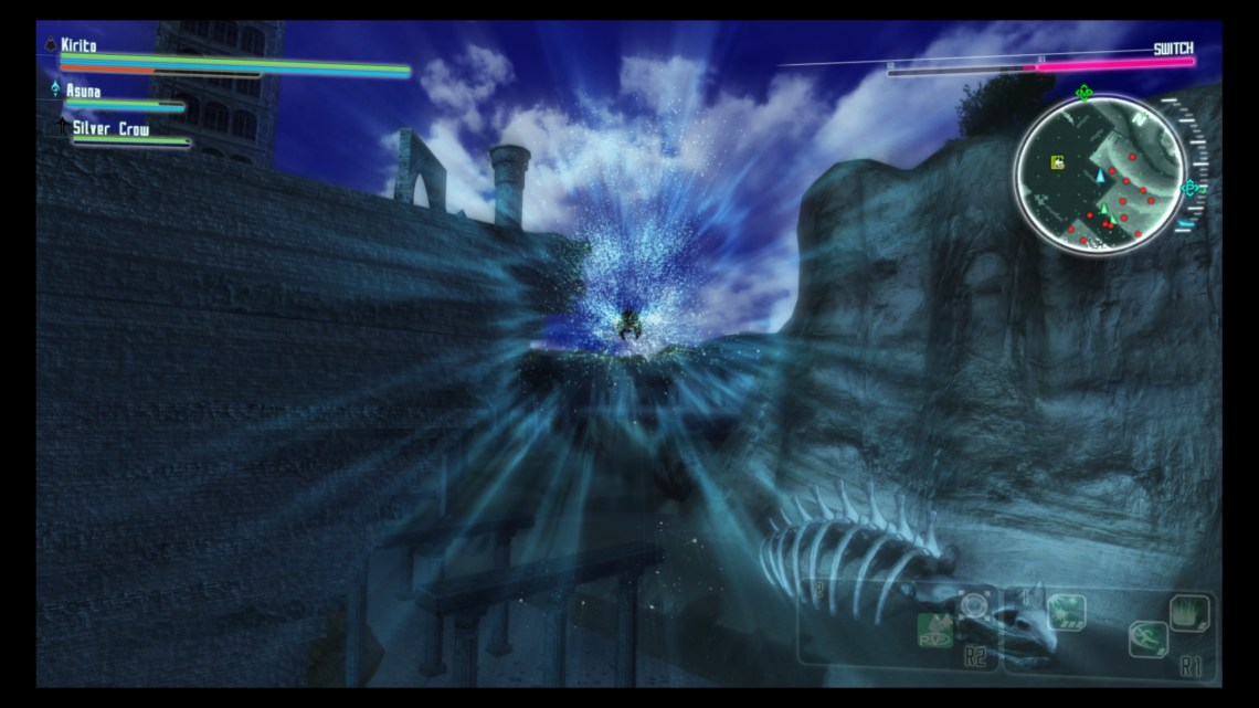 Test d'Accel World vs Sword Art Online (PS4)