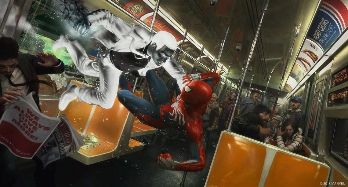 Jeu Spider-Man 2018