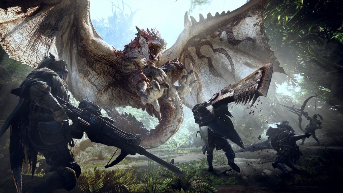 Monster Hunter: World, rhododendrons et dragons !
