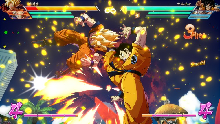 test de Dragon Ball FighterZ