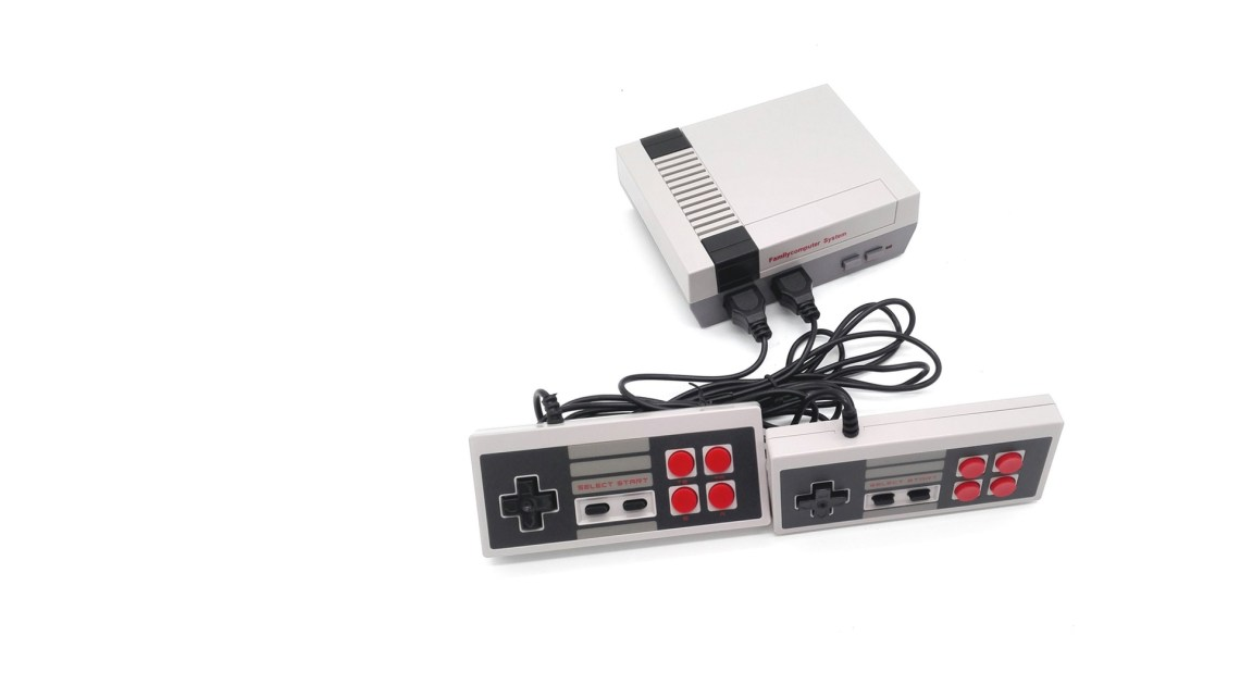 test de l'émulateur mini console NES GEARBEST