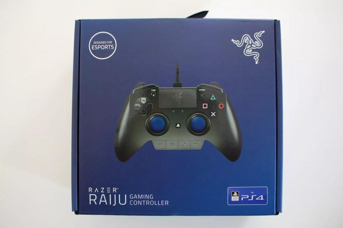Test Razer Raiju (PS4)