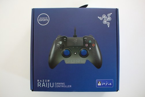 Test Razer Raiju (PS4)