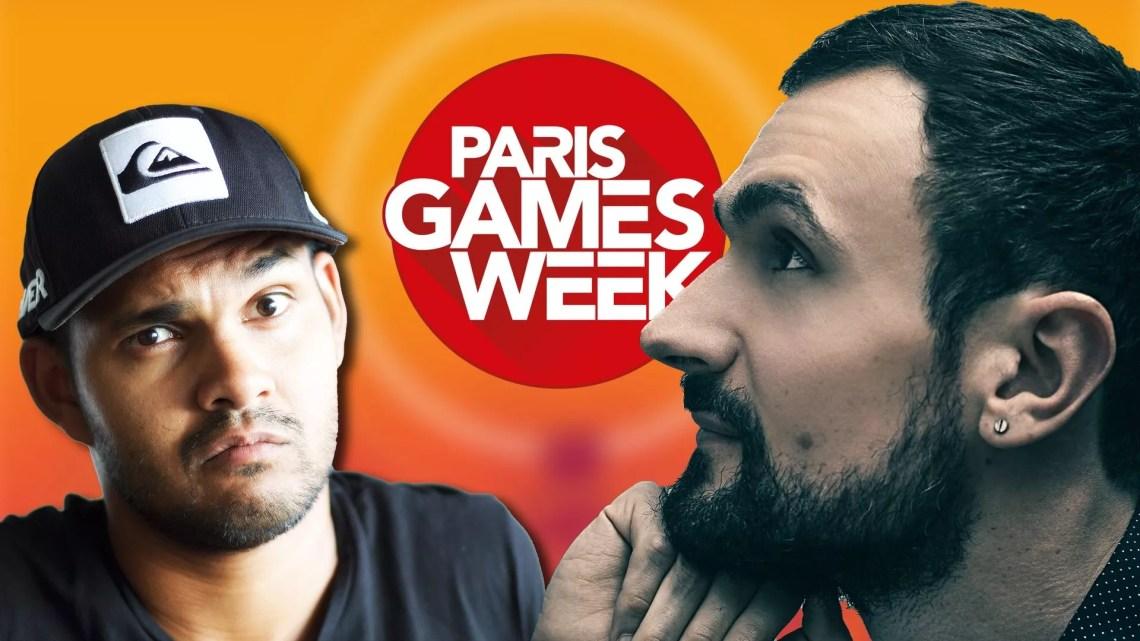 Je suis un gameur.com à la Paris Games Week