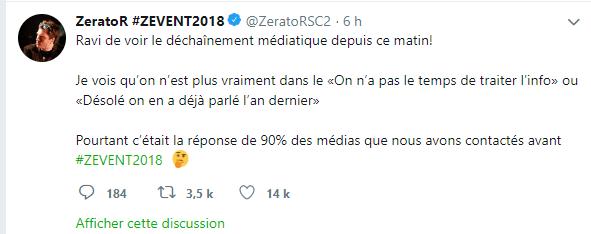 Z Event récolte un million d'euros pour MFS