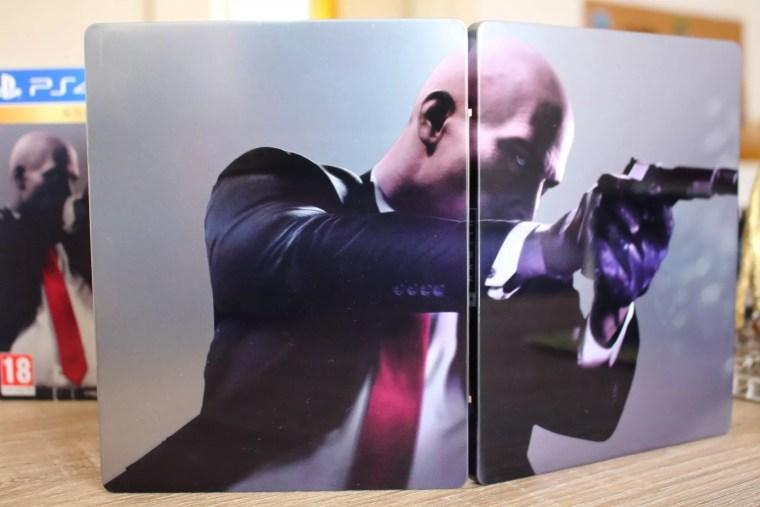 unboxing de Hitman 2 Gold Edition