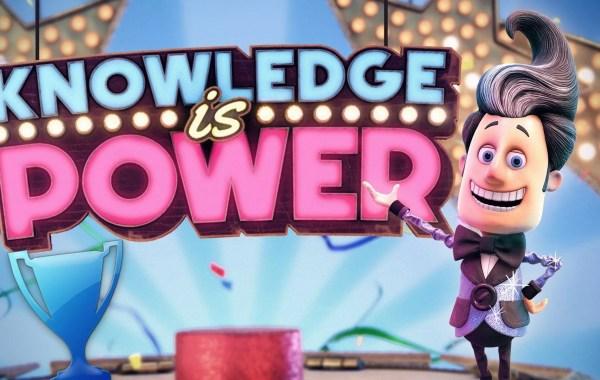 trophée platine de Knowledge is Power