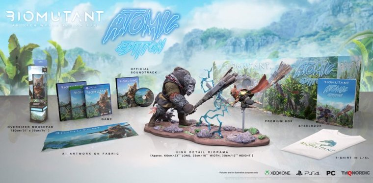 "Édition collector ""Atomic"" BioMutant"