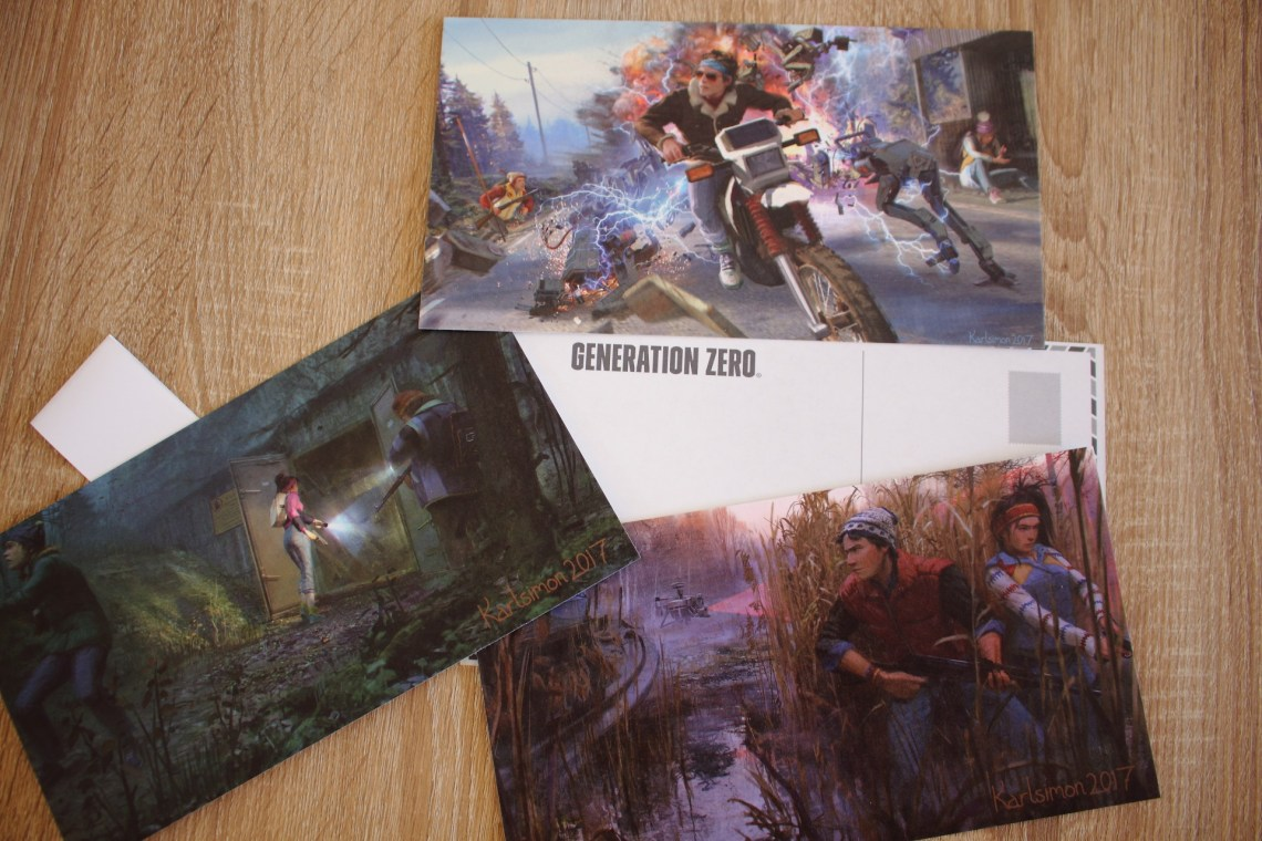 unboxing de l'édition collector de Generation Zero