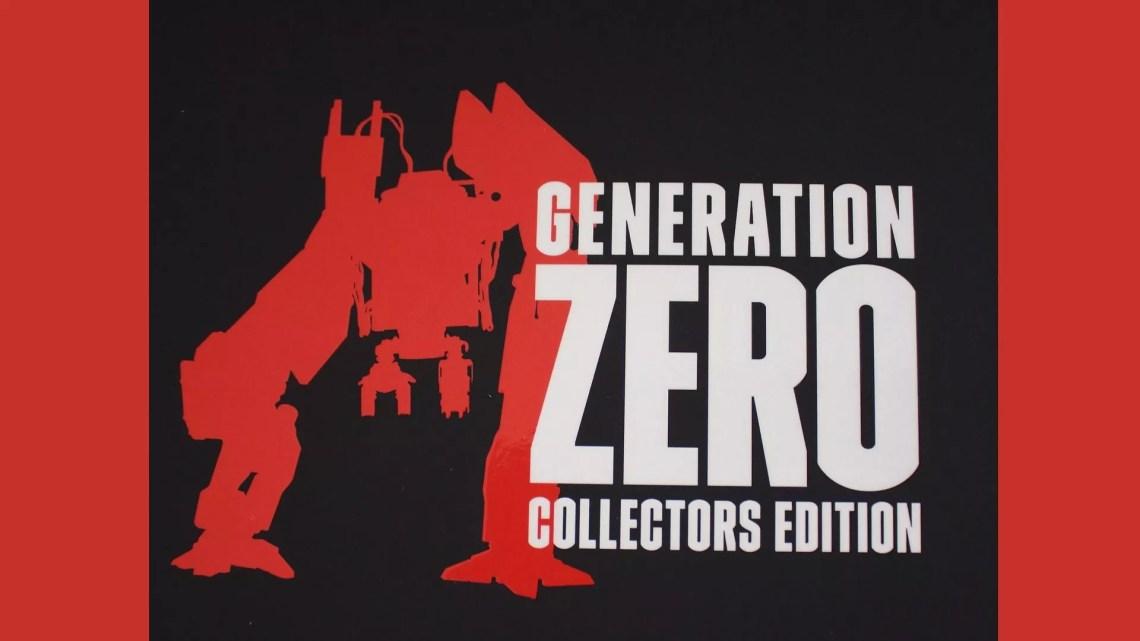 unboxing de l'édition collector de Generation Zero