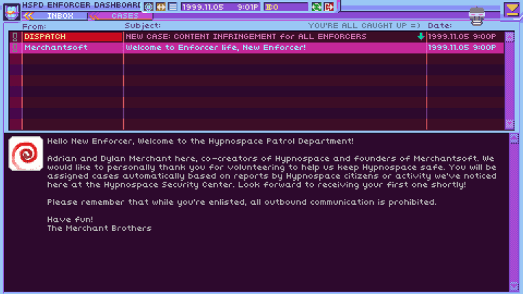 Critique de Hypnospace Outlaw