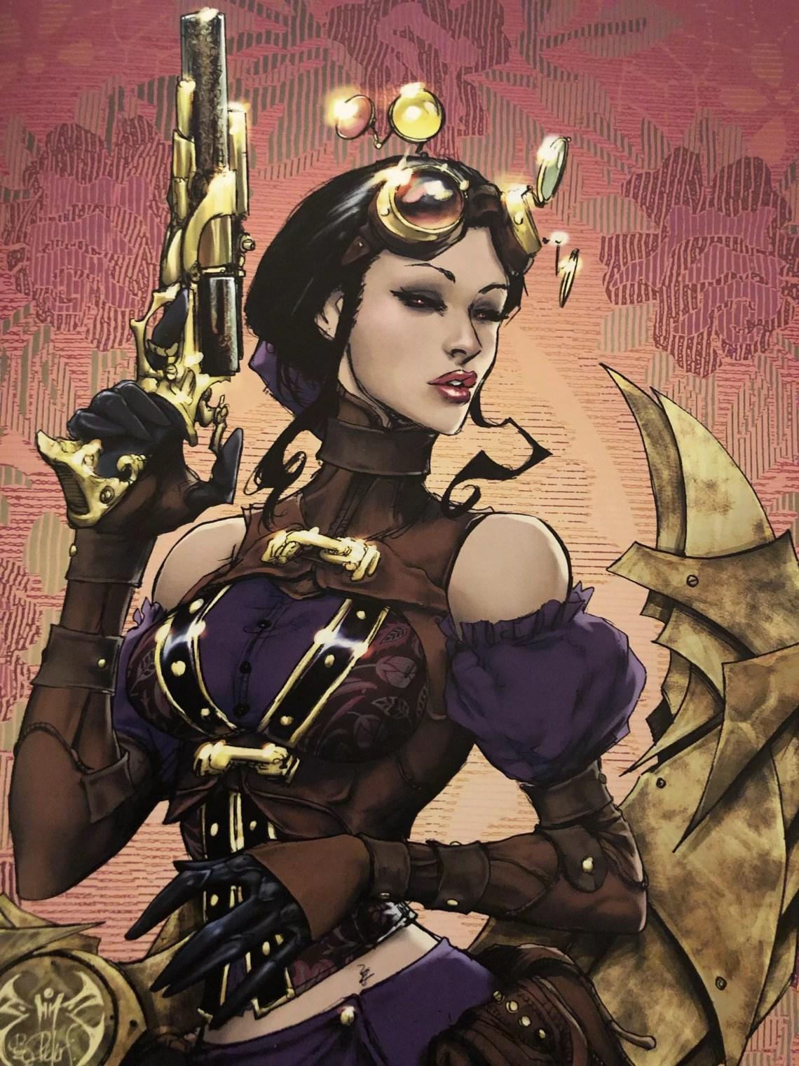 Wallpaper Lady Mechanika