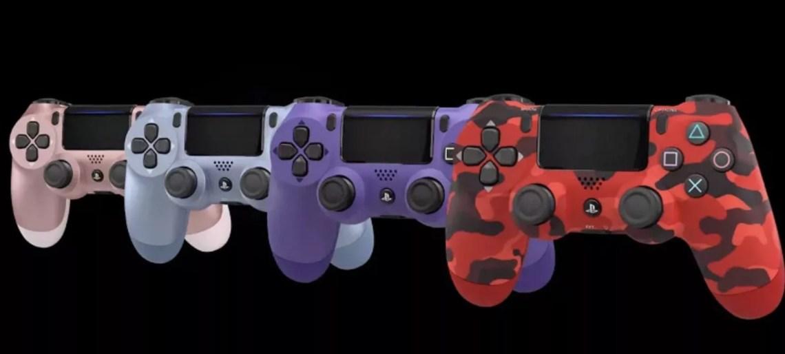 Nouvelles manettes PS4