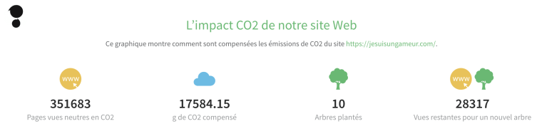 Team JSUG : compensation des émissions de CO2