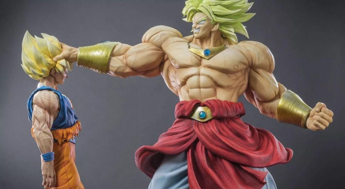la plus belle collection de figurines Dragon Ball Z