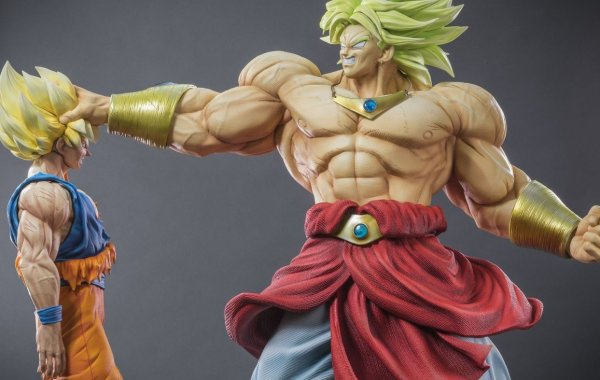 la plus belle collection de figurines Dragon Ball Z