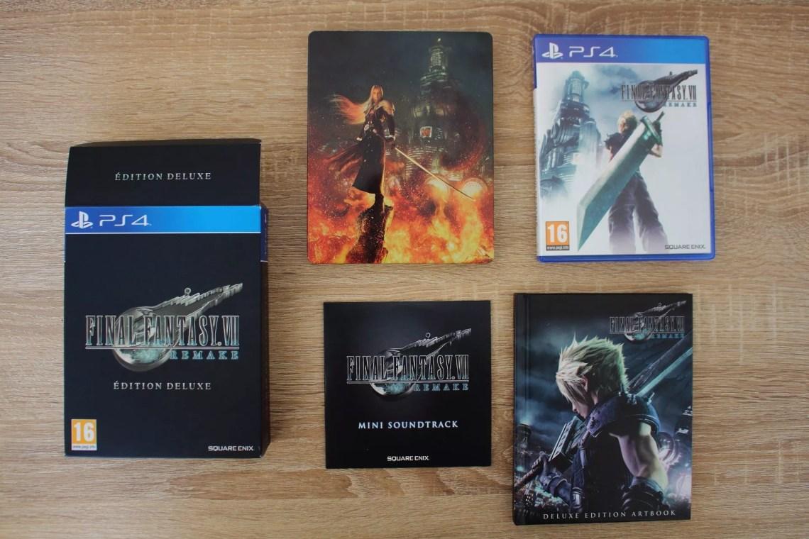 Bonus physiques Édition Deluxe de Final Fantasy VII Remake